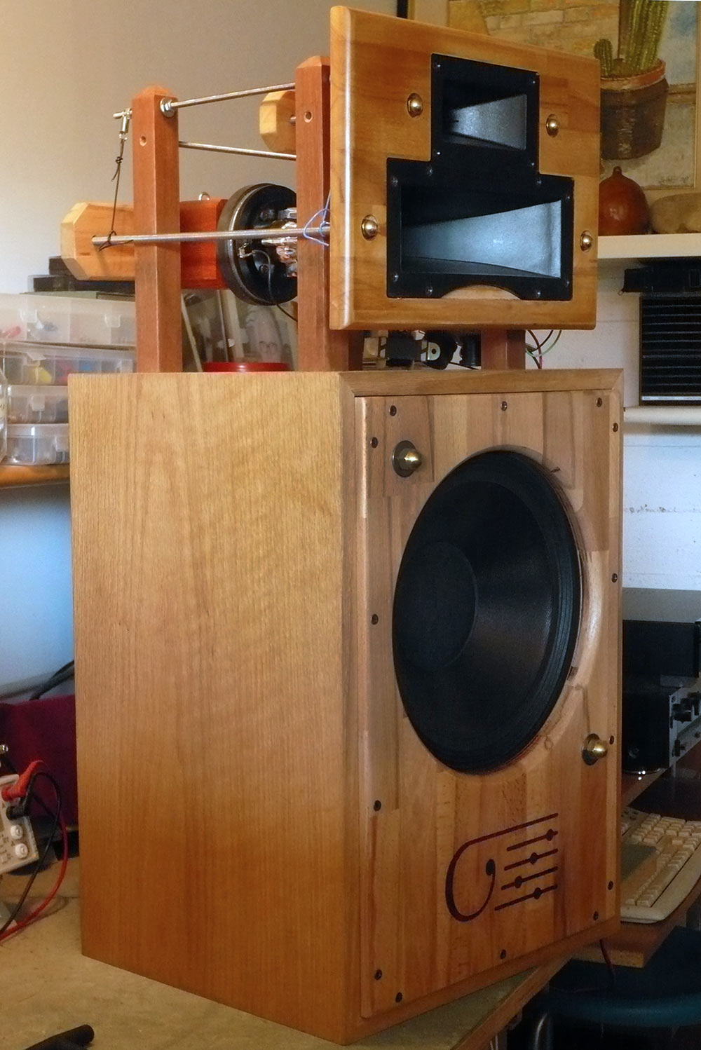 Klipsch Heresy II in fase avanzata di up-grade